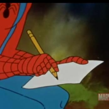 writing-spiderman